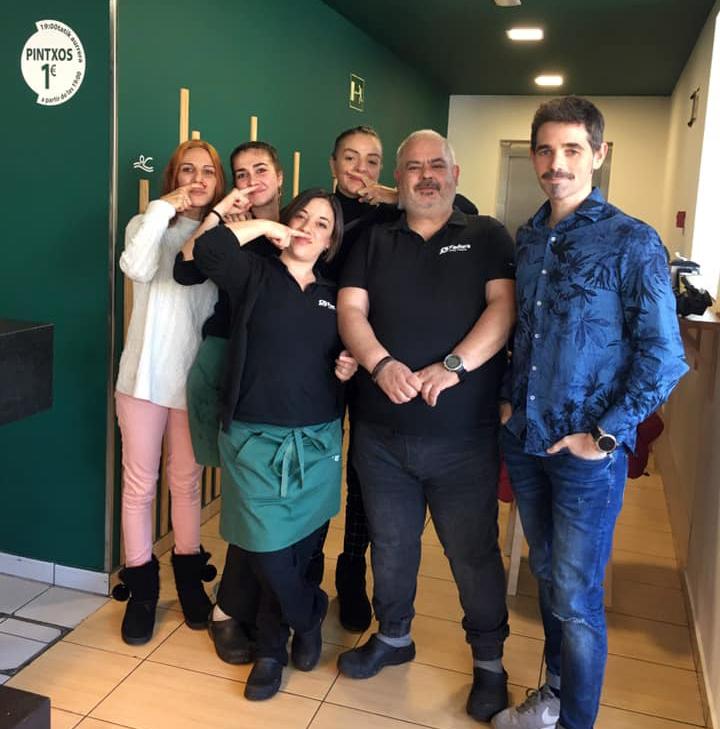 Equipo de trabajadores del Restaurante Fadura