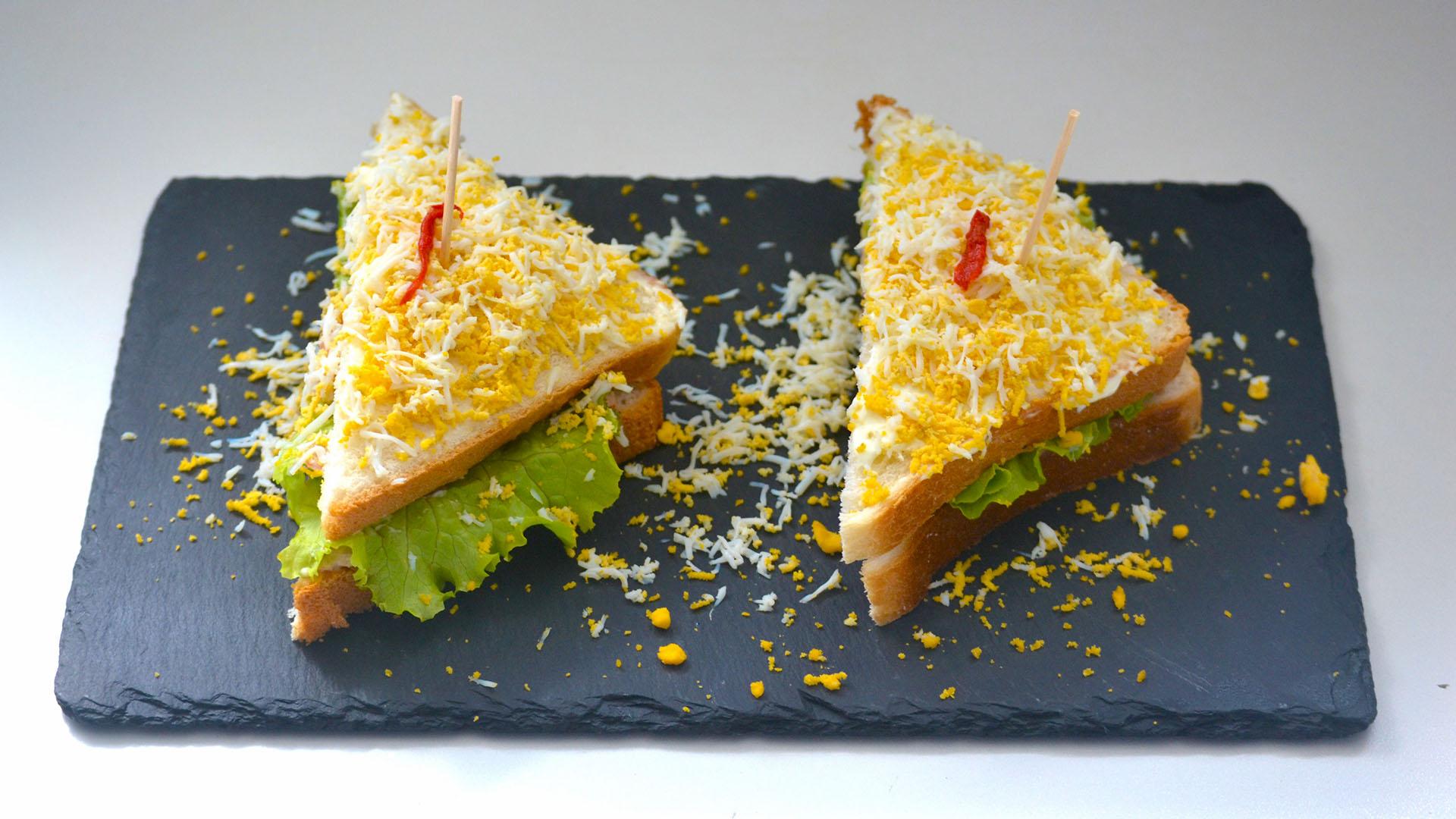 Menú del Restaurante, Sandwiches
