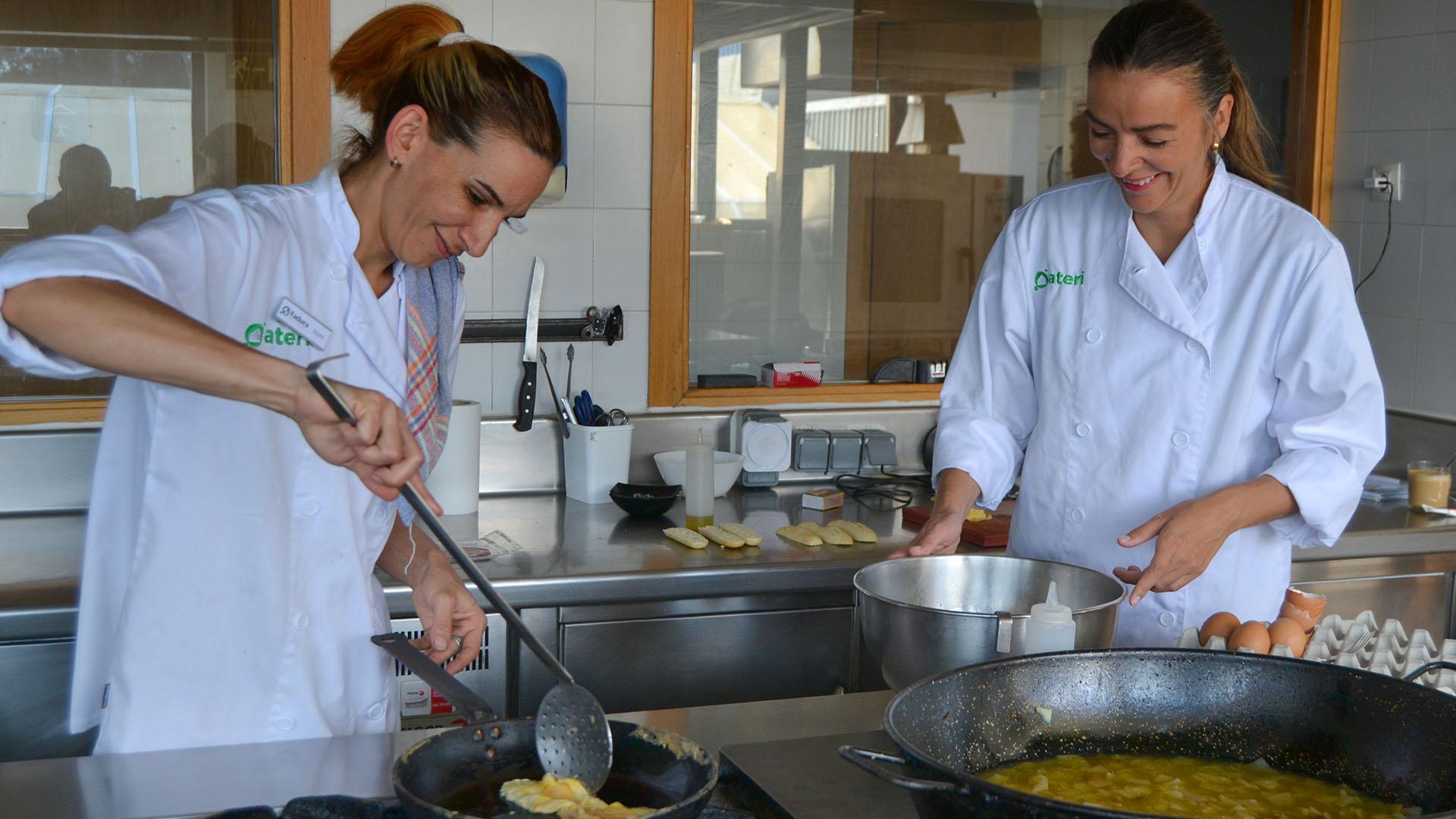 Cocina del Restaurante