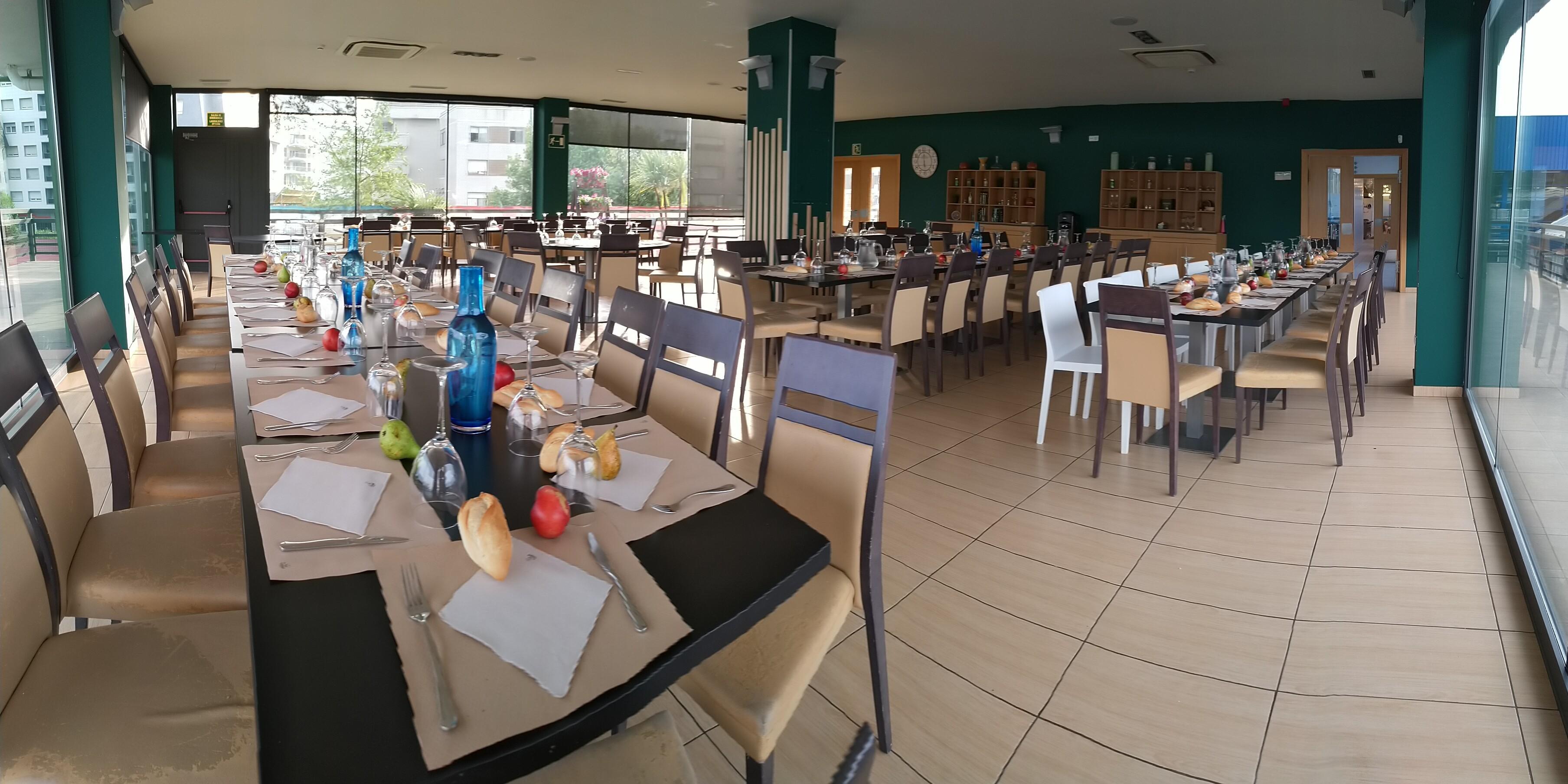 Vista del comedor del Restaurante Fadura